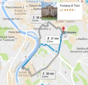 to Colosseum